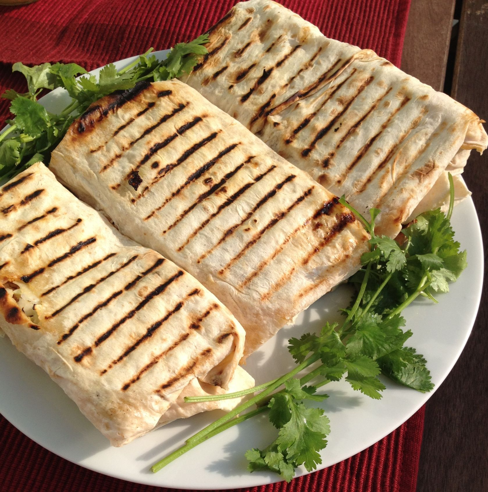 Armenian Shaorma chicken wraps