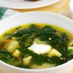 Nettle soup Russian recipe