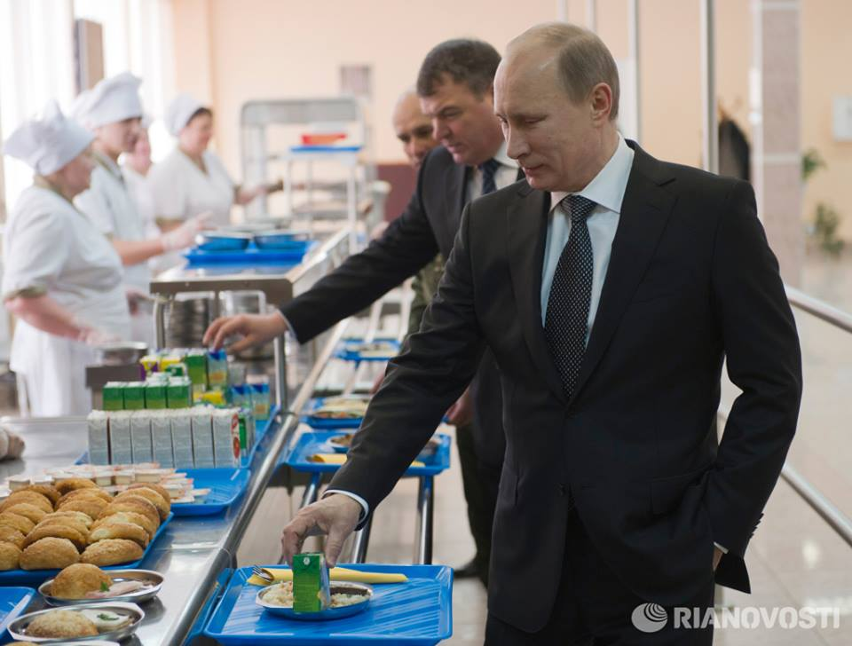 Putin Russian food to beat McDonald's