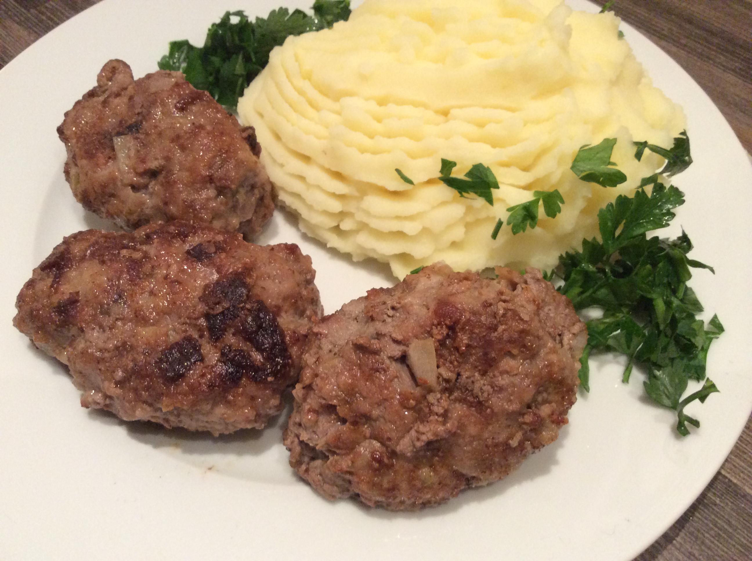 Russian kotleti burgers recipe