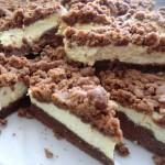 Russian tvorog chocolate cake_square