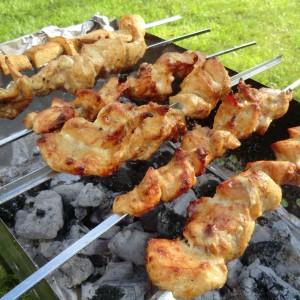Russian Shashlik barbecue