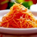 Korean style kimchi carrot
