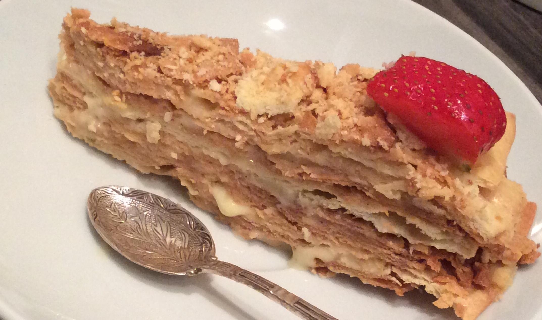 Napoleon-Russian-cake-vanilla-slice