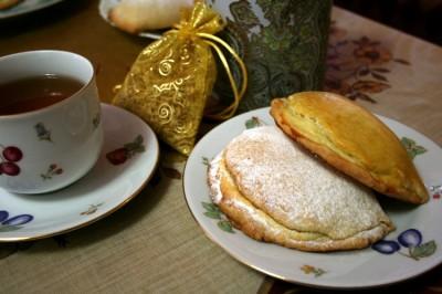 Russian pastry sochniki recipe