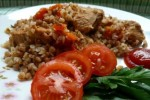 Buckwheat braised with turkey