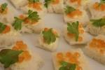 Kaviaar broodjes